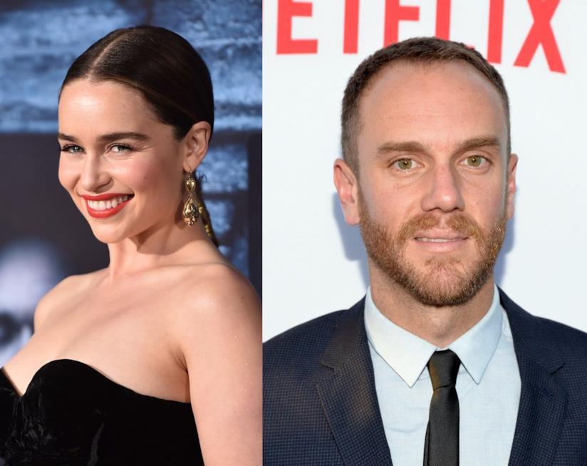Emilia Clarke e il regista Charlie McDowell