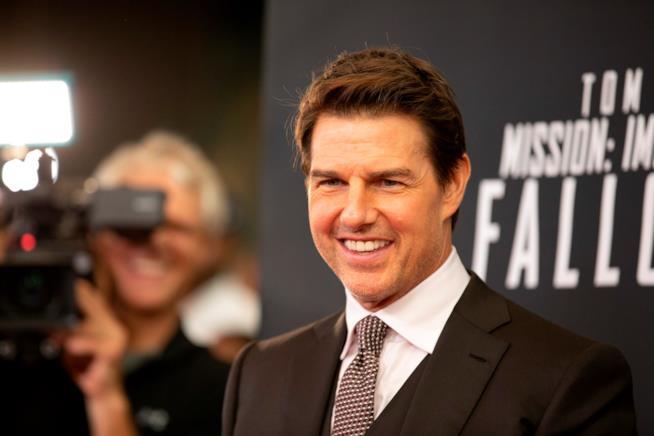 L'attore Tom Cruise