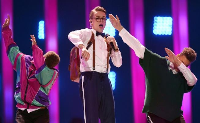 La performance di Mikolas Josef all'Eurovision Song Contest
