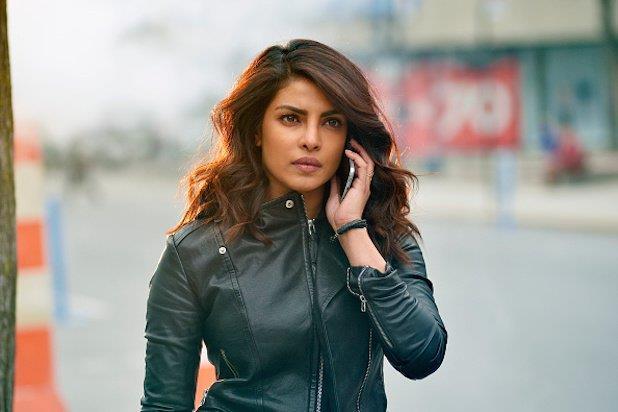 Priyanka Chopra in una scena di Quantico