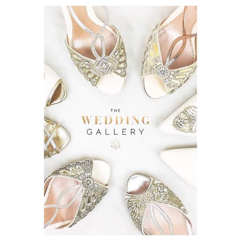 The Wedding Gallery, la vetrina di scarpe