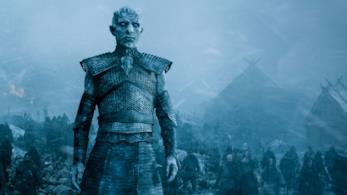 Una scena di Game of Thrones