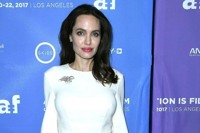 Angelina Jolie al photocall di The Breadwinner