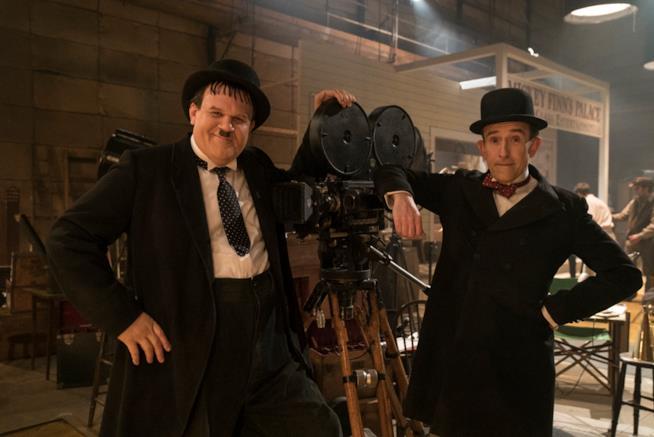 Steve Coogan e John C. Reilly in Stanlio e Ollio
