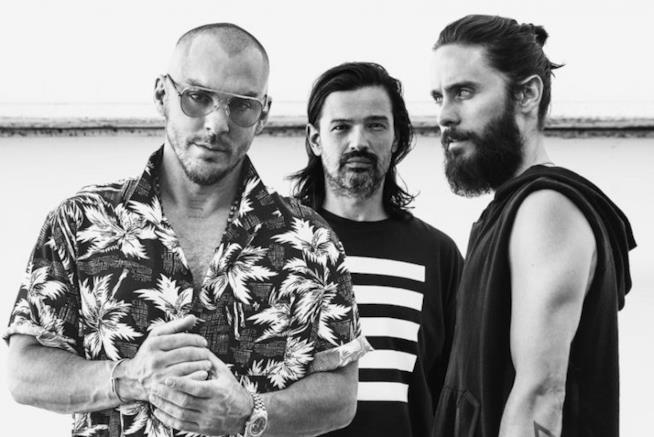 La rock band Thirty Seconds to Mars