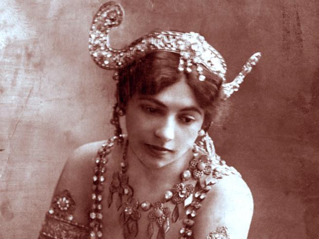 la ballerina e spia Mata Hari