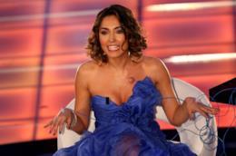Caterina Balivo durante una trasmissione tv