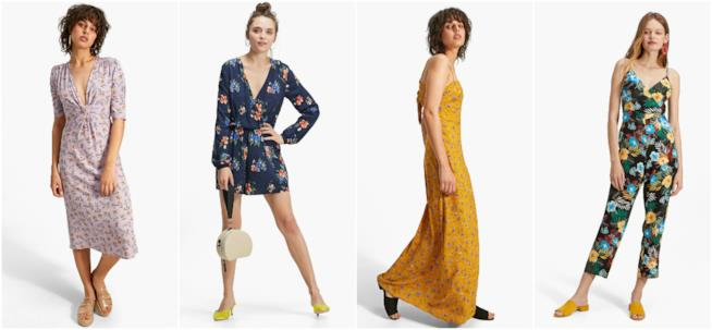 Stampa floreale di moda per i vestiti e le jumpsuit Stradivarius 42f2d73e647