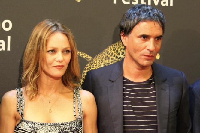 Vanessa Paradis e Samuel Benchetrit sui red carpet di Locarno 70