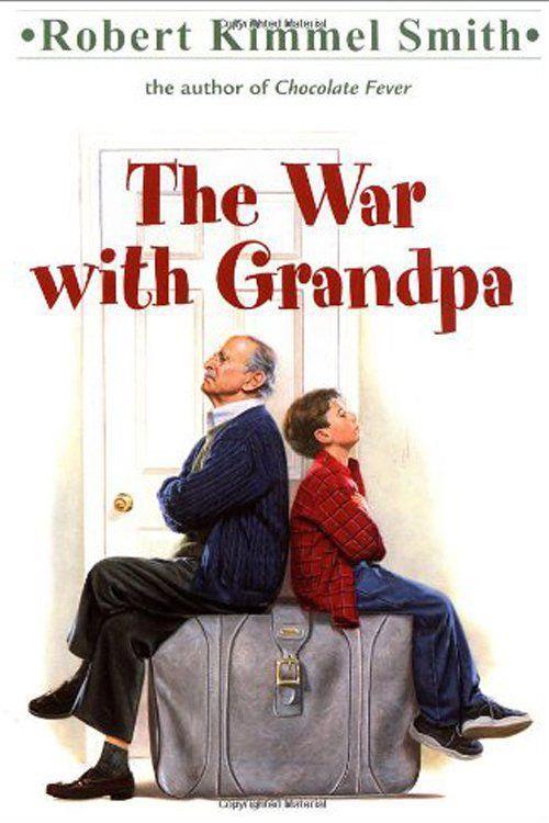 La copertina del libro The War with Grandpa