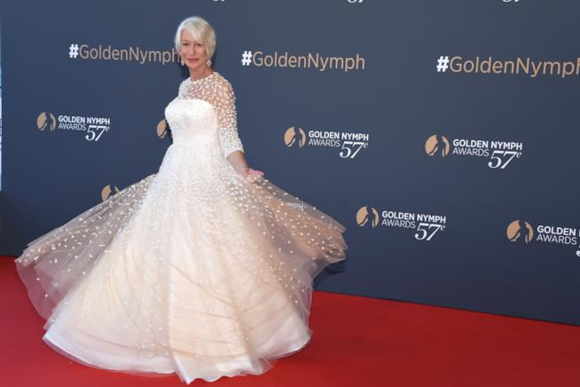 L'attrice Heln Mirren ha vinto un Oscar per il film The queen - la regina