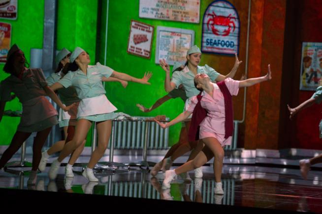Federica Delvecchio nella terza puntata di Dance Dance Dance