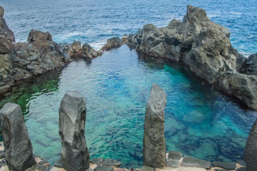 La piscina naturale Charco de la Laja