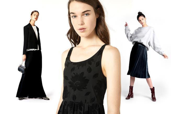 Il nero torna di moda  abiti be2f69d2f79