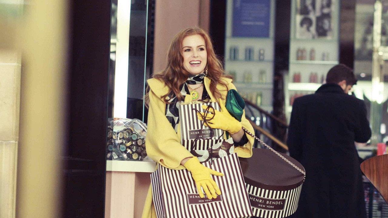 Isla Fisher in I Love Shopping di P.J. Hogan (2009)