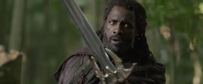 Idris Elba in una scena di Thor: The Dark World