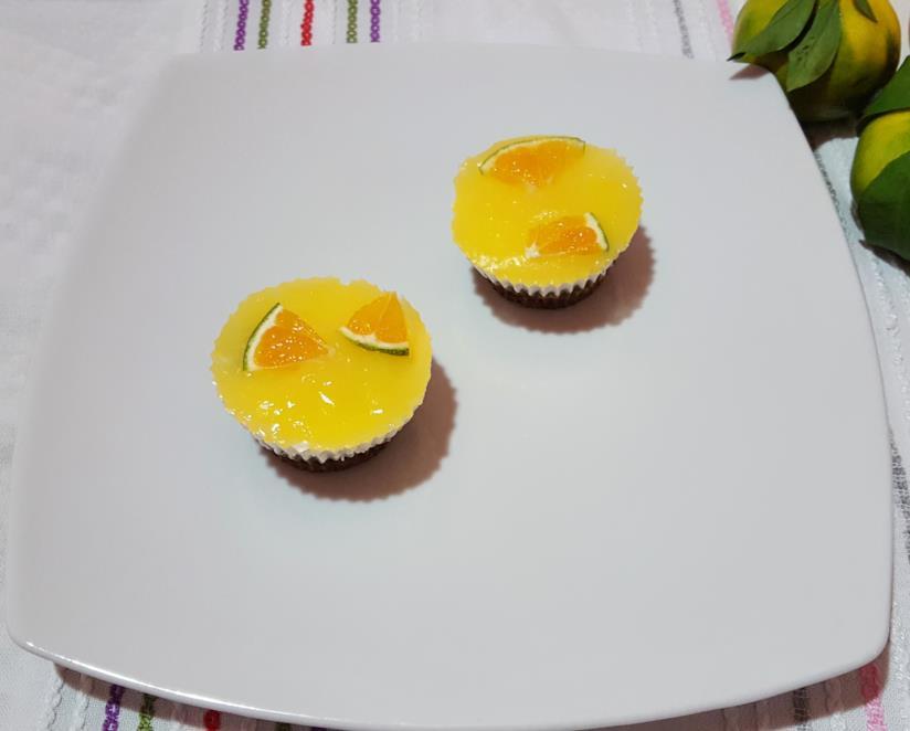 Dolcetti con crema gialla