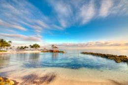 Spiaggia delle Bahamas