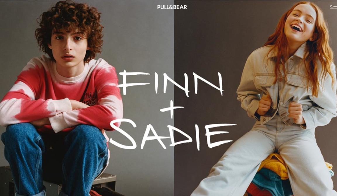 Collezione Finn + Sadie Capsule collection Pull&Bear ispirata a Stranger Things