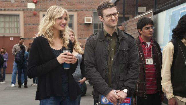 Cameron Diaz e Justin Timberlake nel film Bad Teacher