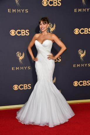 Sofia Vergara sul red carpet degli Emmy