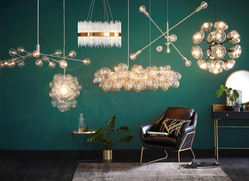 I lampadari di lampadine Maisons du Monde