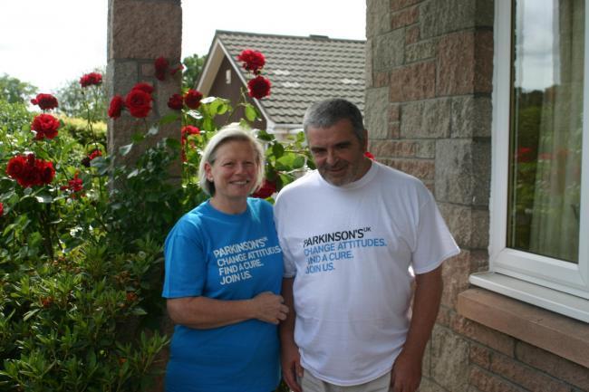Joy Milne con il marito
