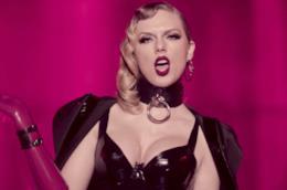 Un'immagine tratta dal video di Look What You Made Me Do