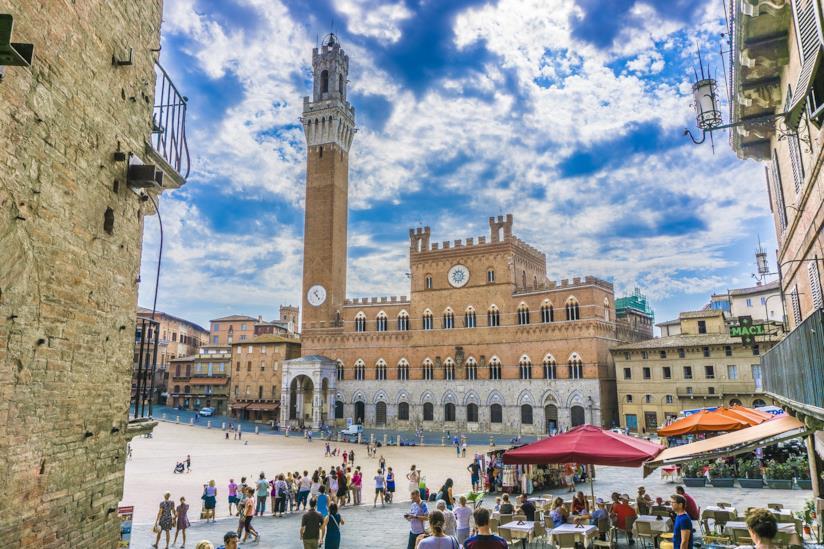 La piazza più bella di Siena: Piazza del Campo