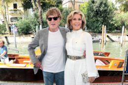 Jane Fonda e Robert Redford a Venezia 74