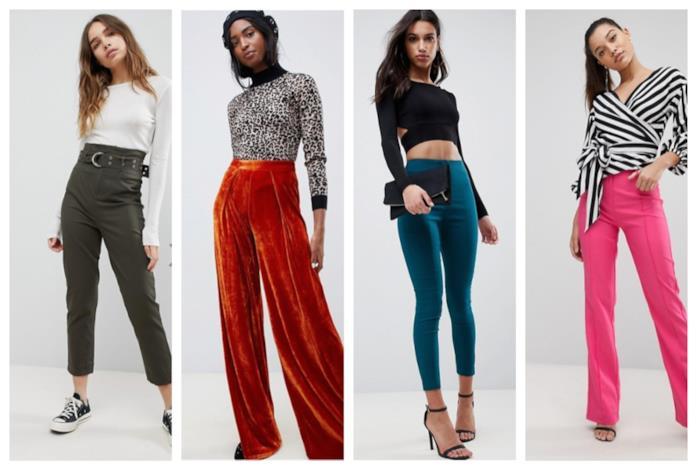 400b97b9bfeaaf Pantaloni  i modelli di moda must have per l autunno inverno 2018-19