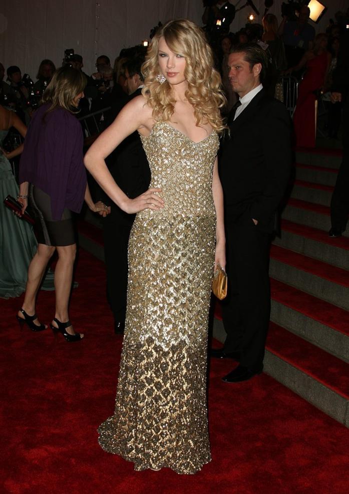 L'abito di Taylor Swift al MET Gala 2008