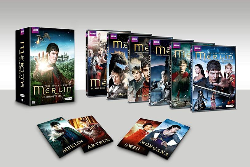 Cofanetto DVD di Merlin - Seasons 1-5