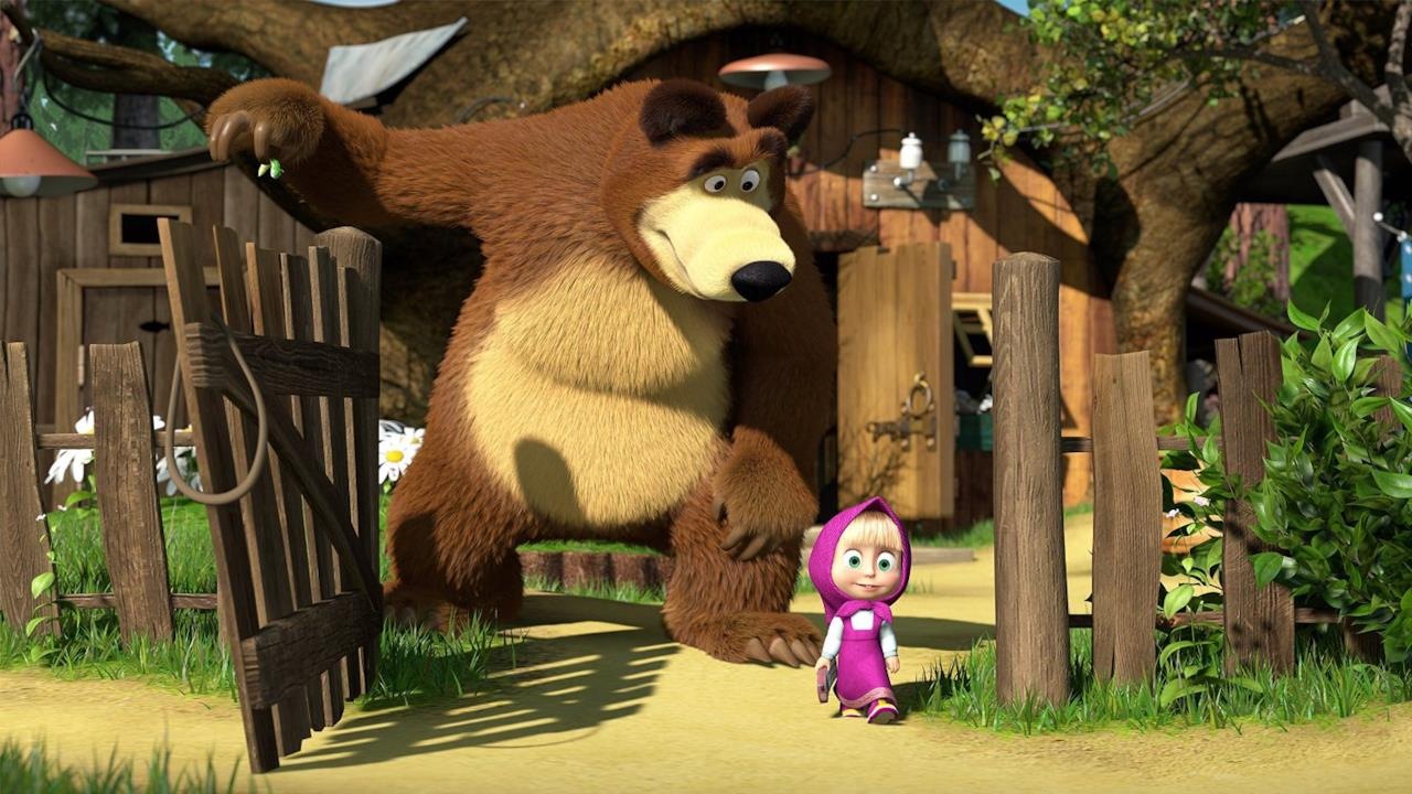 Masha e Orso nel bosco