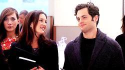 Blair sorride forzata a Dan