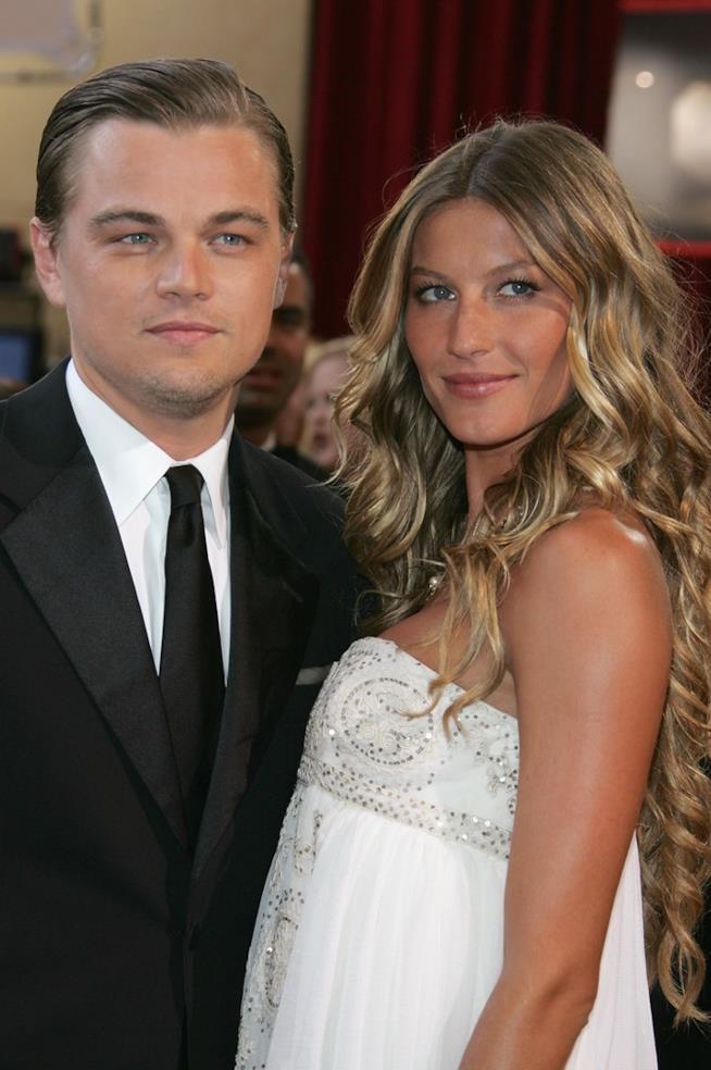 Leonardo DiCaprio e Gisele Bündchen insieme sul carpet degli Oscar 2005