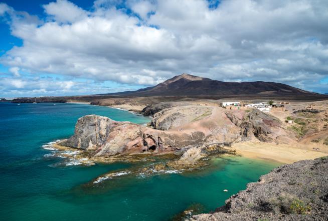 Playa del Papagayo, Lanzarote, Isole Canarie