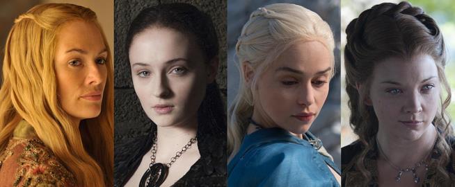 Cersei, Sansa, Daenerys e Margaery