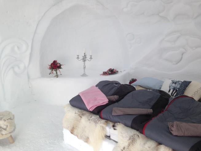Hotel di ghiaccio svedese