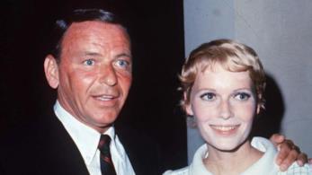 Frank Sinatra e Mia Farrow ai tempi del loro matrimonio