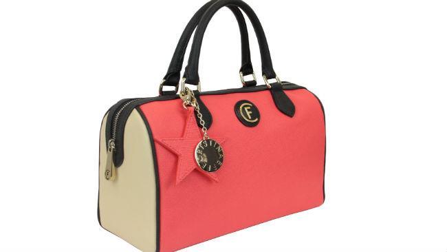 Rosa dominante anche per la borsa bauletto Caterina di CRISTINAEFFE