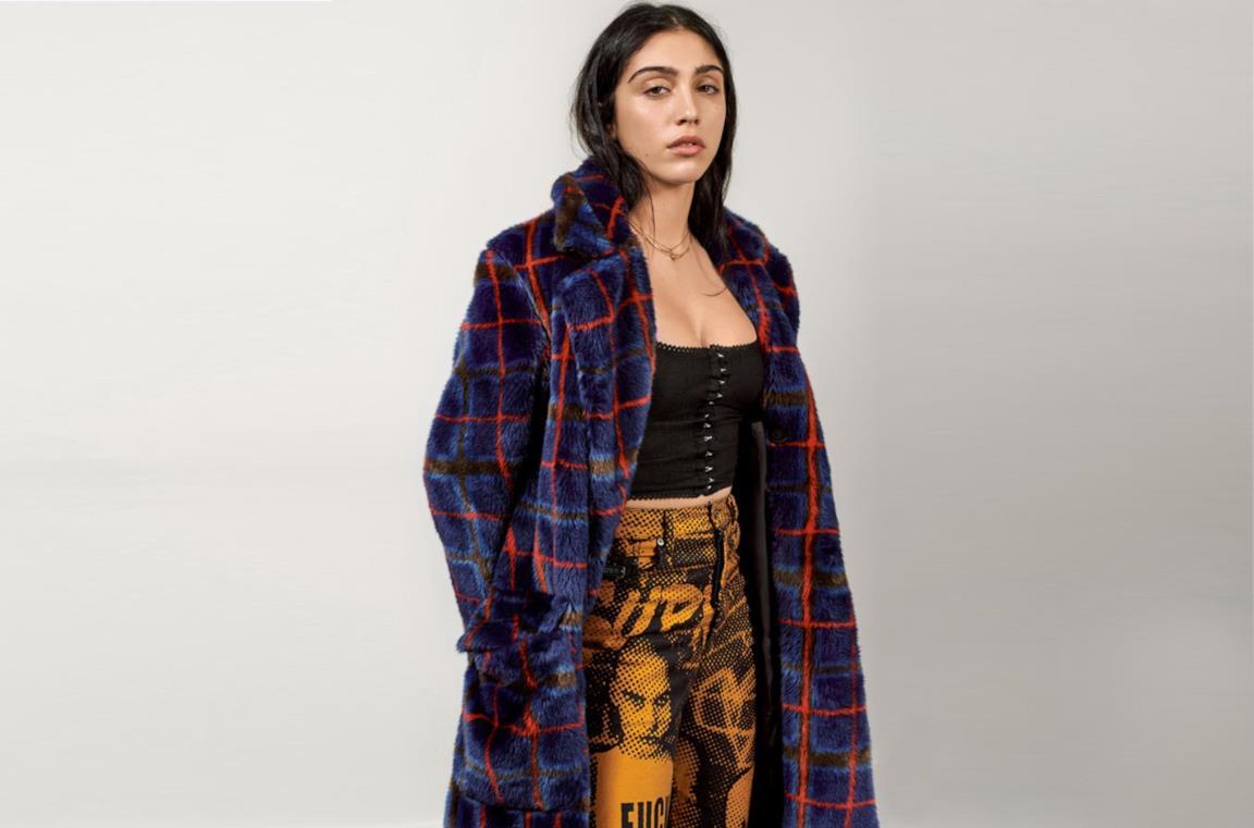 Lourdes Leon indossa la nuova collezione nata dalla collaborazione tra Supreme e Jean Paul Gaultier