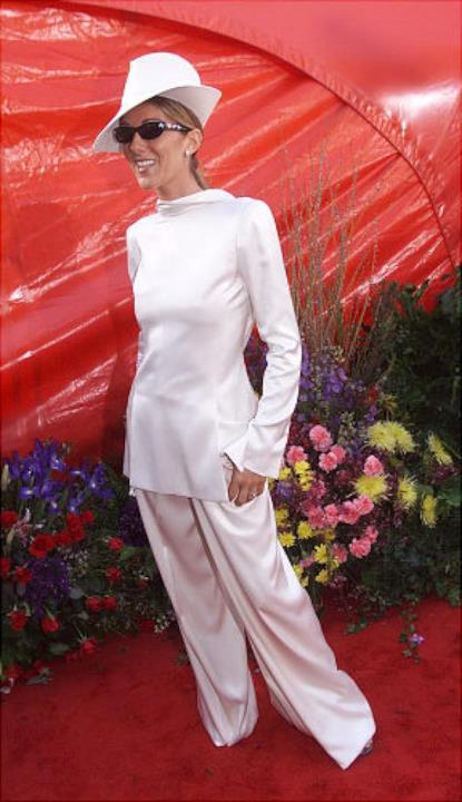 Céline Dion sul red carpet degli Oscar