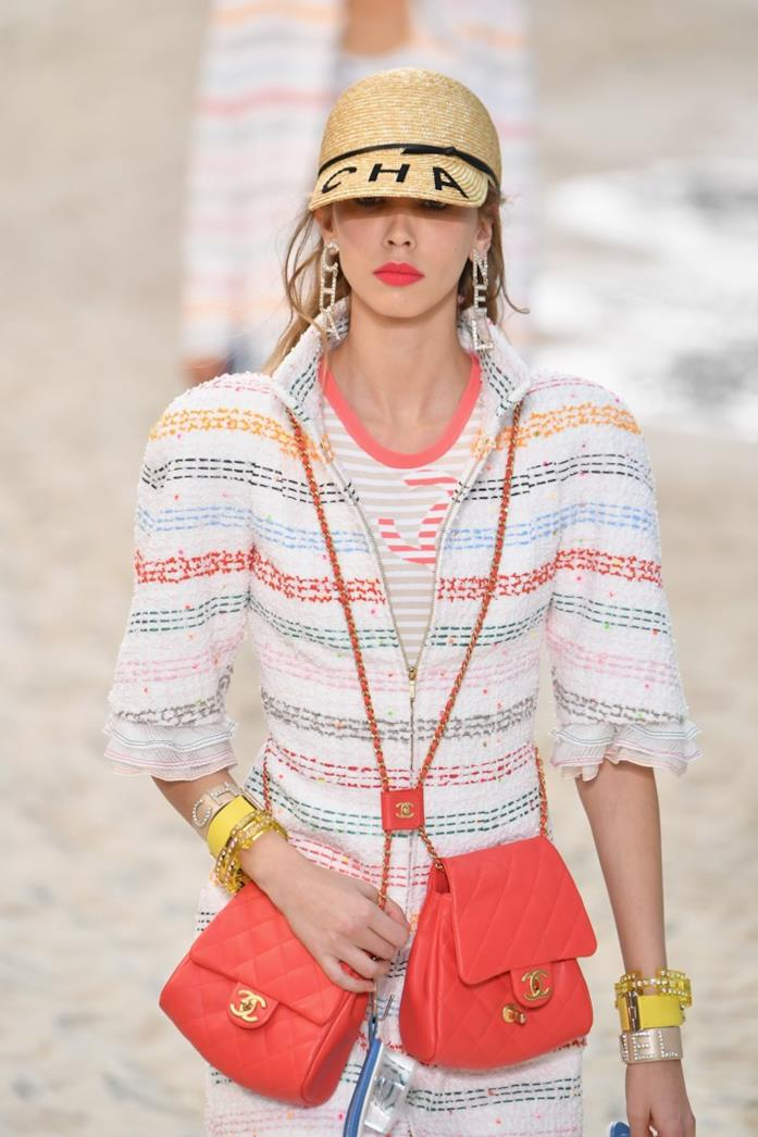 Il modello Side-packs Chanel