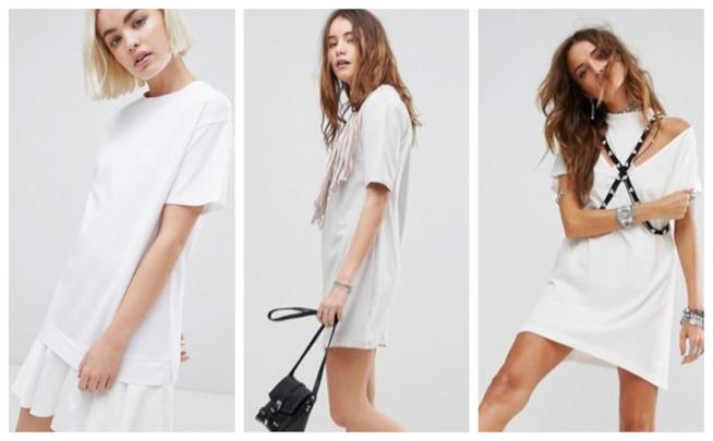Bianchi, i vestiti t-shirt di tendenza per l'estate 2018