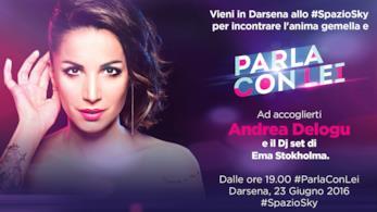 Andrea Delogu sarà la conduttrice di Parla con Lei su FoxLife