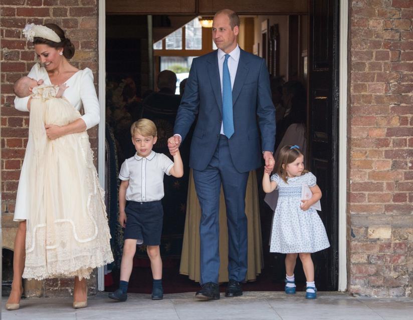 Kate e William con i loro figli