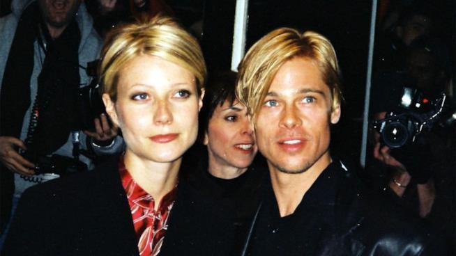 La coppia anni '90 Brad Pitt e Gwyneth Paltrow