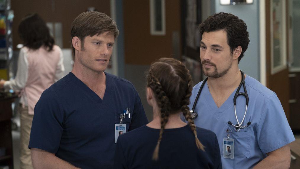Meredith insieme a Link e Andrew nei nuovi episodi