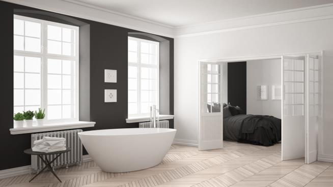 Come far durare a lungo un pavimento in parquet in bagno e - Parquet in bagno e cucina ...